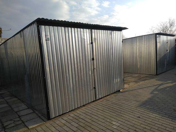 Garaże blaszane 3x5 -budowlane