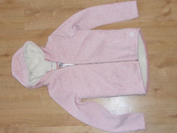 Bluza ocieplana dla dziewczynki