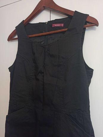 Czarna sukienka Viceversa r. 36 (dobra także dla r. 38)