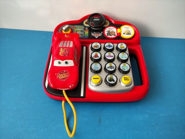 Interaktywny telefon Zygzak McQueen Auta Cars