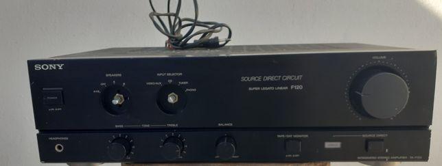 Amplificador Sony Super Legato Linear TA F-120A