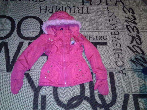 Куртка Disney з рукавичками для дівчинки