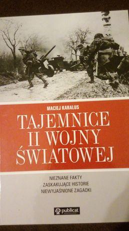 Książka Tajemnice ll wojny światowej.