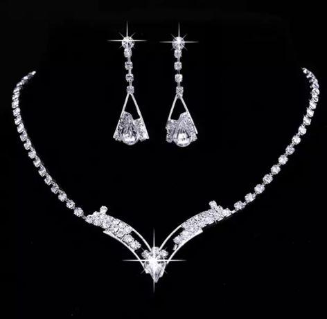 Biżuteria ślubna w kształcie litery V
