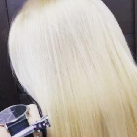 Окрашивание волос. Балаяж. Шатуш. Мелирование. Биозавивка.