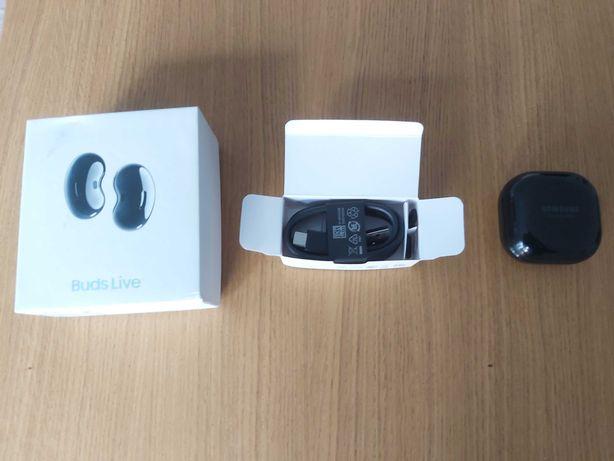 Galaxy Buds Live Preto - Praticamente Novo - Garantia - 5 meses de uso