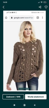 Sweterek ażurowy Big Star