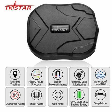NOVO: GPS localizador Rastrador TKSTAR tracker localizar carros íman