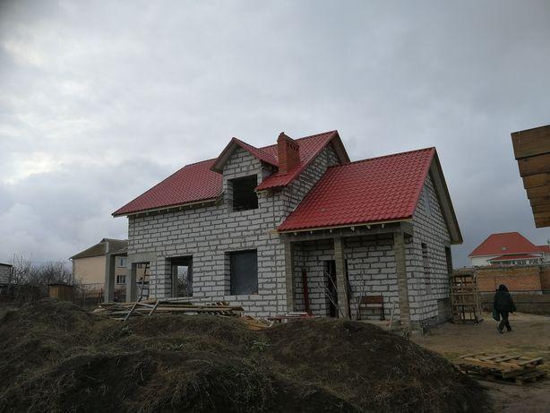 Строительные работы , заливка бетона , кладка , кровля , отделка