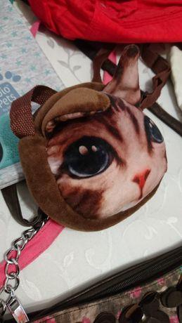 NOWA torebka w kotka prezent idealny dla dziewczynki na urodziny