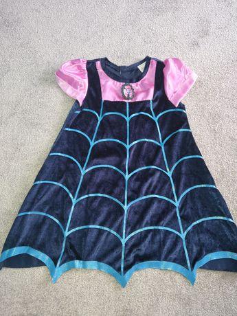 Vampirina sukienka bal karnawałowy balik przebranie strój 104 110