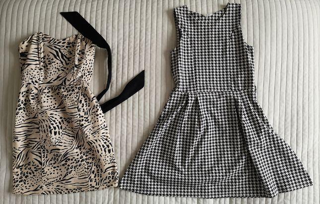 Paka ubrań damskich, bluzki, spódnice, sukienki! Głównie rozmiar S