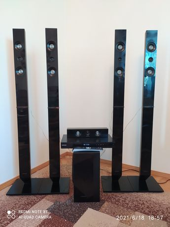 Домашний кинотеатр Samsung HT-D555K 1000Вт 5.1 акустическая система