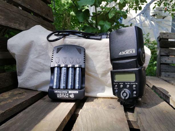 Фотовспышка Canon Speedlite 430EX 2Strobius + зарядное с аккумами