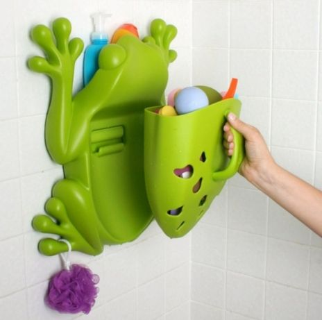 Органайзер для ванны Boon Frog