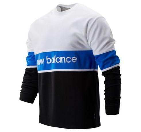 Толстовка реглан свитшот мужская New Balance Athletics LS Archive Tee