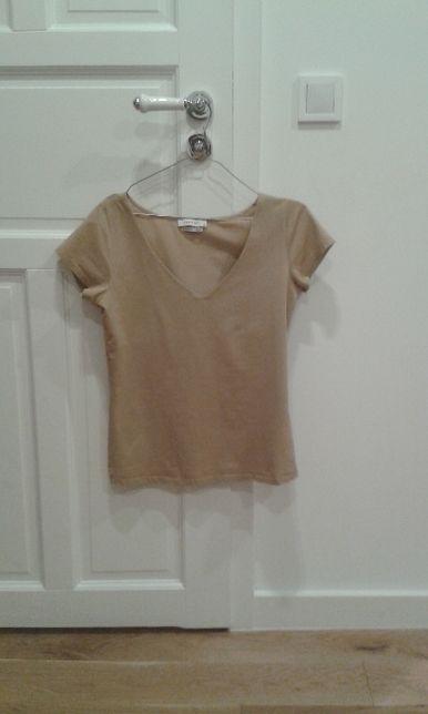 Reserved koszulka basic marceryzowana bawełna S