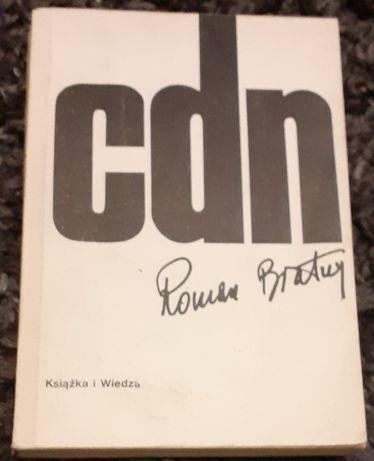 "Książka pt. ,, Cdn "" Roman Bratny"