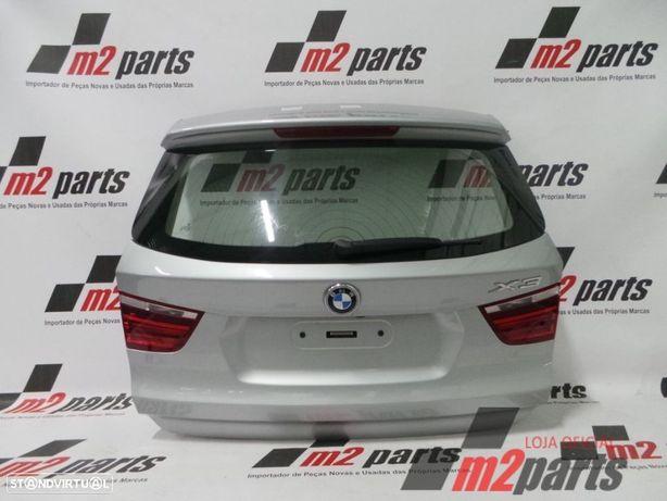 Tampa da mala BMW X3 (F25) Vermelho/Branco/Cinza Prata/Cinza rato/Castanho Semi-...