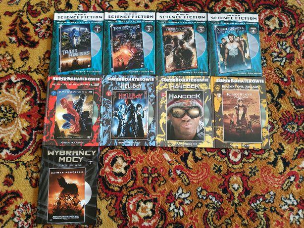 Filmy DVD + książka, kolekcjonerskie; zestaw lub osobno