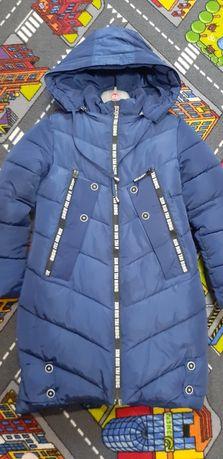 Зимняя куртка-пальто для девочки.