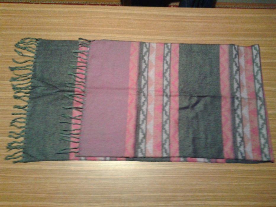 szalik cieply bawelniany z fredzelkami szeroki tania wysylka Busko-Zdrój - image 1