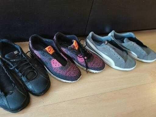 Ténis Puma e Nike air-max, homem