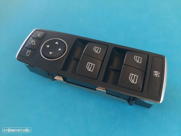 Comando Botão Vidros Mercedes Classe A W176 B W246 GLA X156 GLE W166 (1669054400)   NOVO