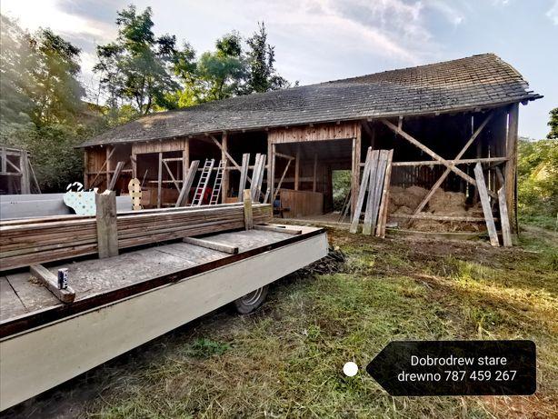 Skup starego drewna deski belki  rozbiórki rozbiórka stodol stodola