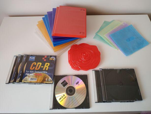 CD's e DVS's para gravar e Caixas