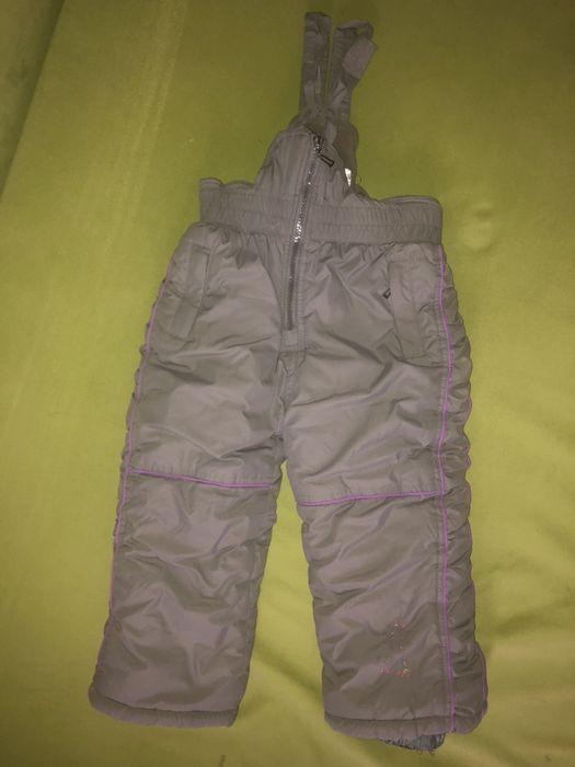 Полукомбинезон, зимние штаны, брюки на девочку Алексеевка - изображение 1