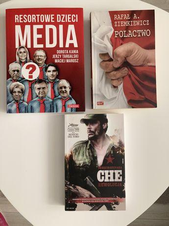 Pakiet 3 książek - Resortowe media. Dzieci, Polactwo, CHE GUEVARA
