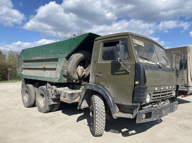 Самосвал КАМАЗ 55111 СУПЕР состояние(рама, кузов, двигатель, редуктор)