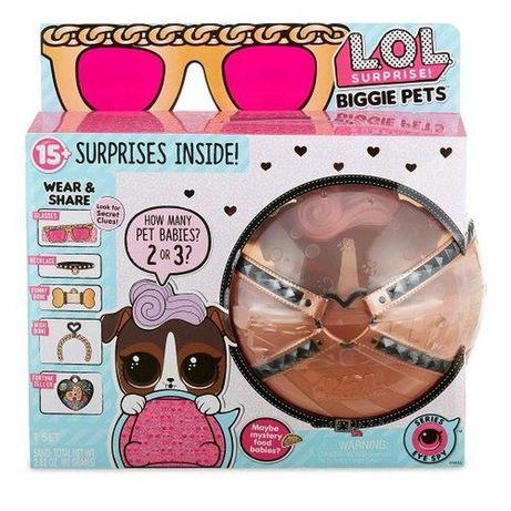 Лол LOL большой питомец пёсик пёс собачка рюкзак секретные месенджи