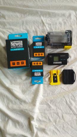 Kamera sportowa SONY + dwie baterie + ładowarka