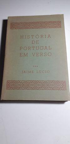 História de Portugal em Verso - Jaime Lúcio (Edição Especial, 1965)