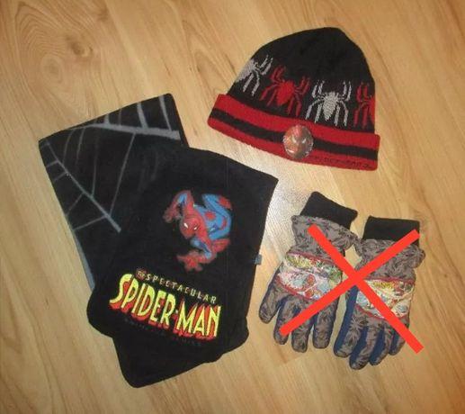 Komplet Spider-Man 3- Czapka i cieplutki szalik
