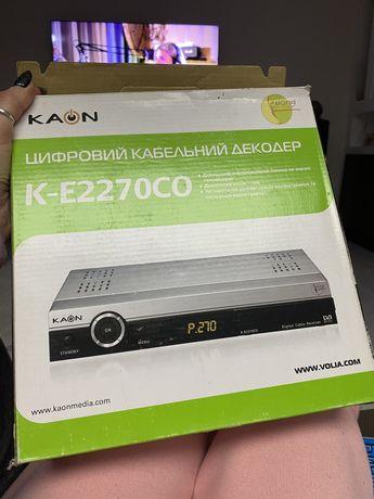 Цифровой кабельный декодер К-Е2270СО
