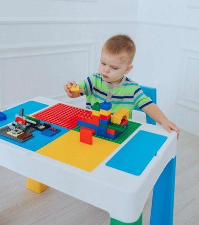 """Детский многофункциональный столик """"Колор 5 в 1"""" и стульчик - P"""