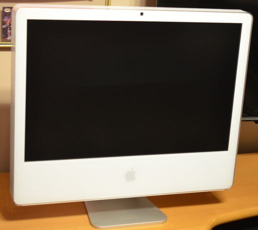 "Apple iMac 24"" A1200 Core2Duo 2,16GHz 3GB DDR2 250GB Windows 7"