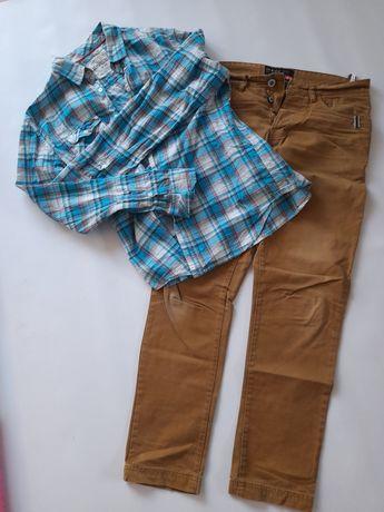 Spodnie Reserved 32/32 koszula M