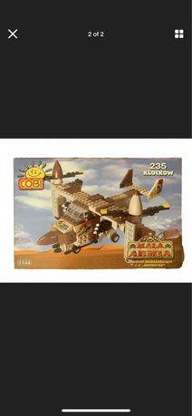 """COBI Mała armia Desert #1144 Samolot bombarduj C-6 ,,DESTROYER"""" z 2"""