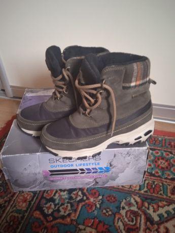 Зимние сапоги Skechers  23.5 см