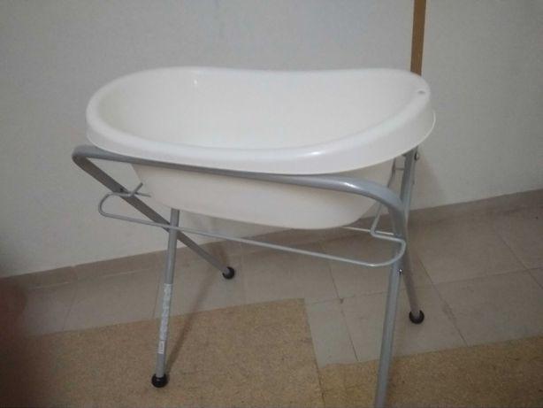 Banheira para bebé IKEA + suporte