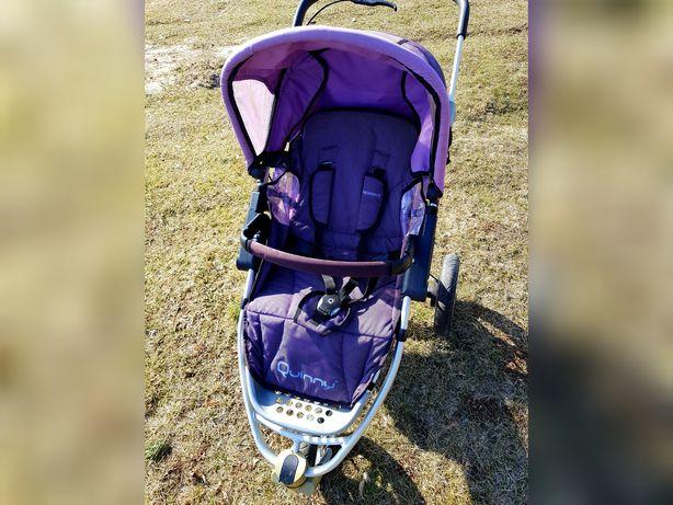 Wózek quinny 2w1 fioletowy