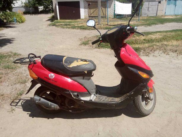Продам скутер 50сс на ходу