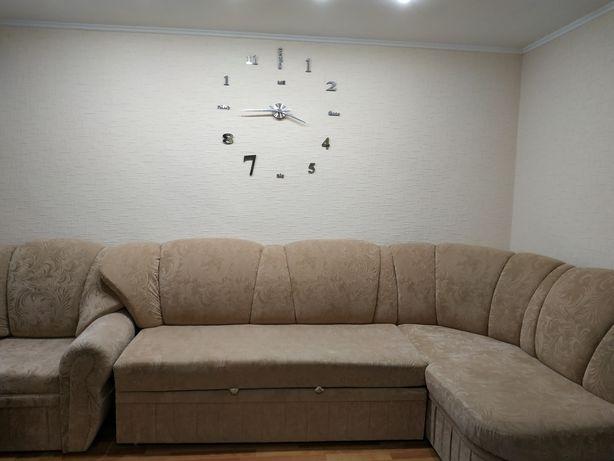 Продам мягкий уголок с креслом кровать