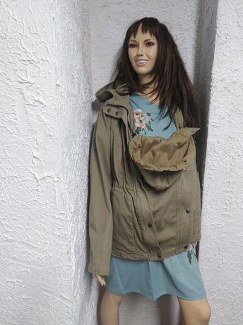 Modna kurtka 3 w 1 z nosidełkiem dla niemowląt