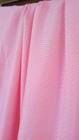 Ткань розовый крепдешин