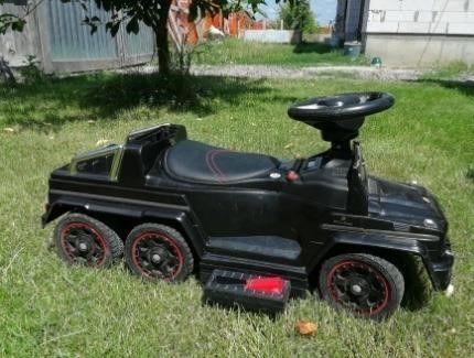 Детский электромобиль - толокар Машина 2 в 1 «Mercedes-Вenz» M 3853EL